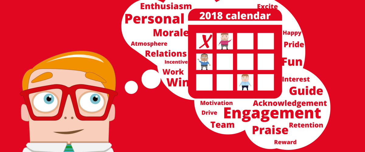 reduce stress at work 2018 calender