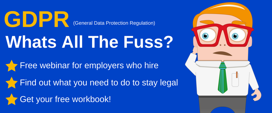 GDPR Recruitment Essentials - webinar recording
