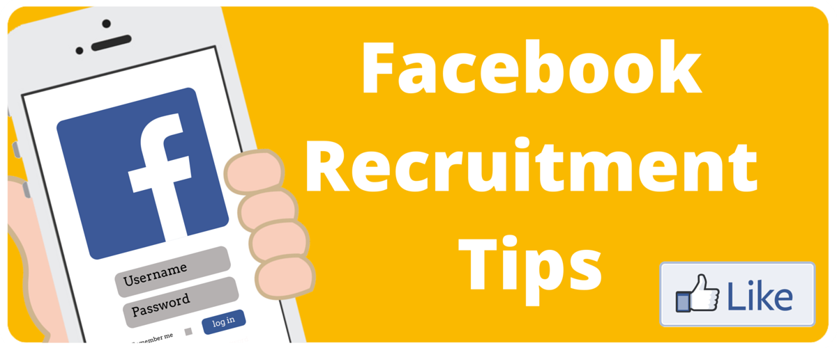 5 Tips to use Facebook to Recruit