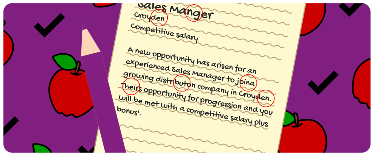Essential to Proofread_job Advert