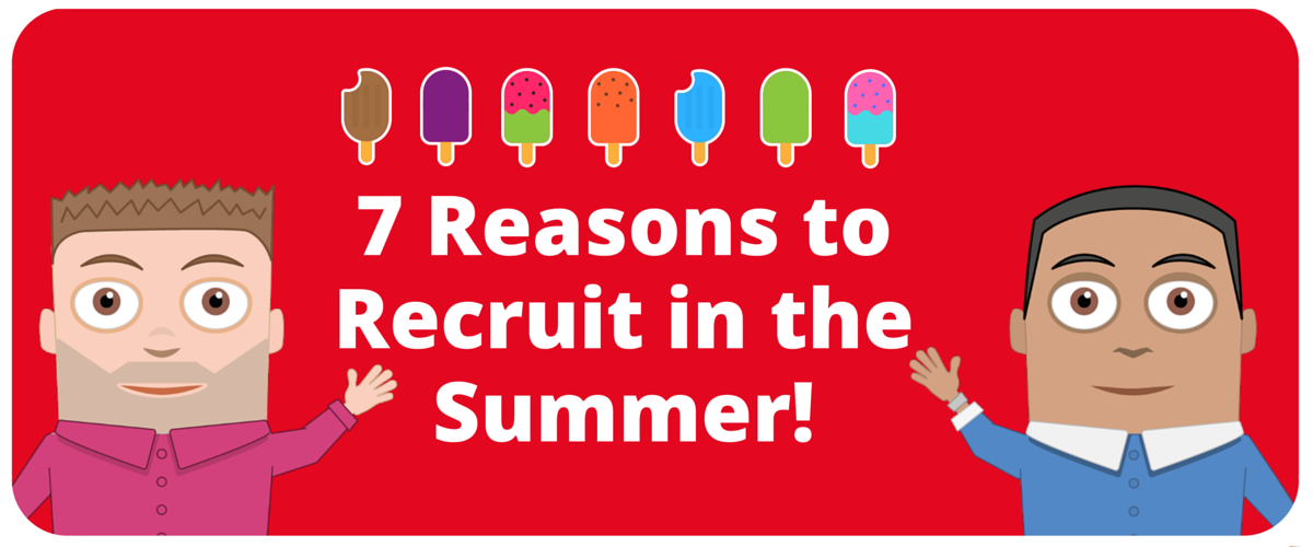 Reasons to recruit your staff in the summer